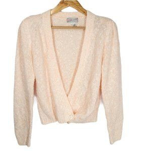 Vintage Spice of Life Cardigan Sweater 1980s M